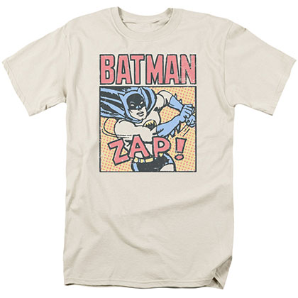 Batman Bat Zap Cream T-Shirt