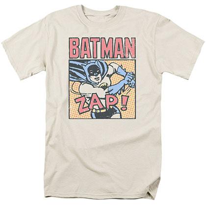 Batman Bat Zap Cream T-Shirt
