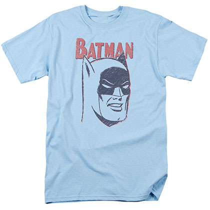 Batman Crayon Blue T-Shirt