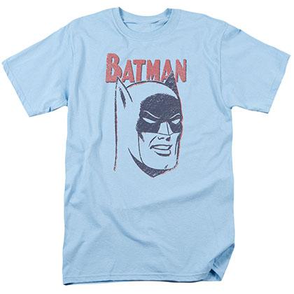 Batman Crayon Blue T-Shirt