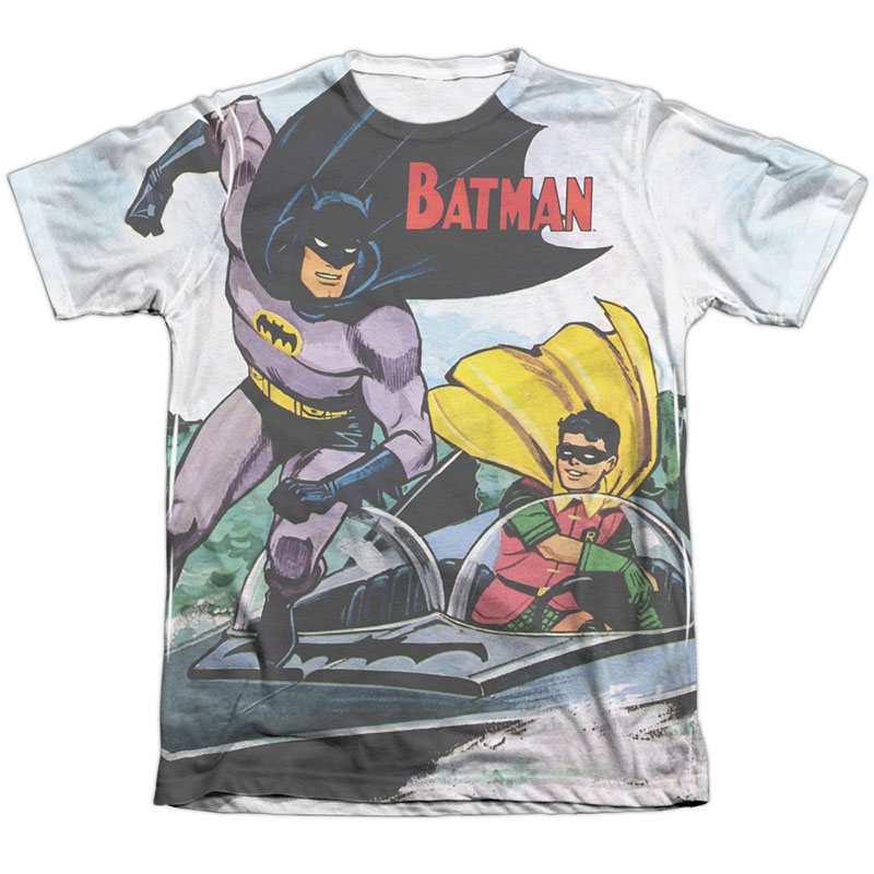 Batman Bat Boat Sublimation T-Shirt