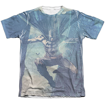 Batman Skyscrapers Sublimation T-Shirt