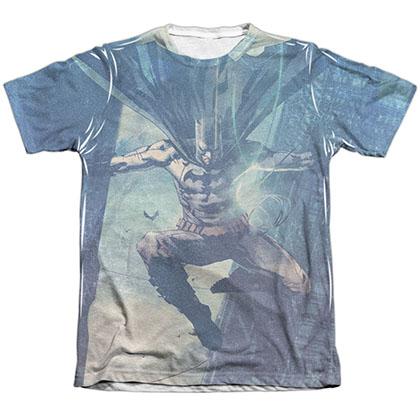 Batman Skyscrapers Sublimation T-Shirt