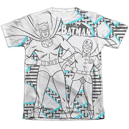Batman Gaudy Bat Sublimation T-Shirt
