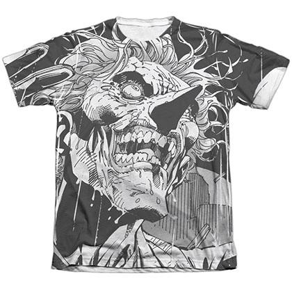 Batman Joker Art Sublimation T-Shirt