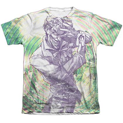 Batman Mad Swirl Sublimation T-Shirt