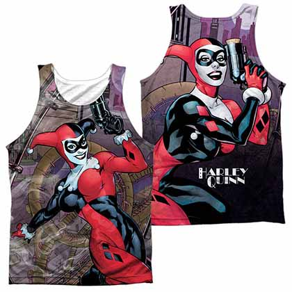 Batman Roller Coaster Of Love Sublimation Tank Top