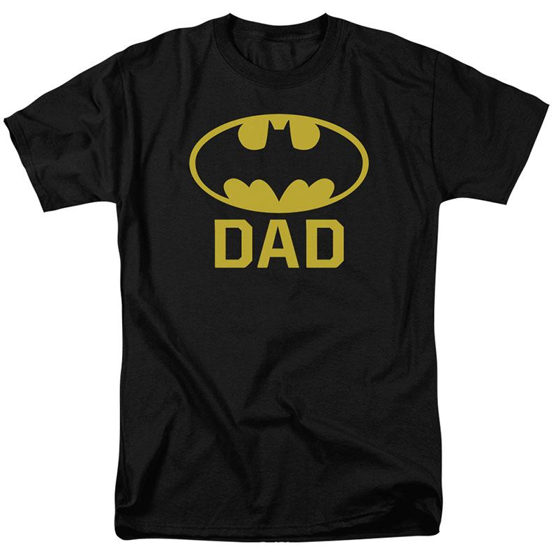 Batman Bat Dad Black T-Shirt