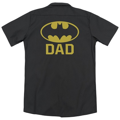 Batman Dad Work Shirt