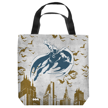 Batman City Vibe Tote Bag