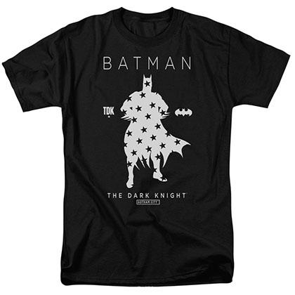 Batman Star Silhouette Black T-Shirt
