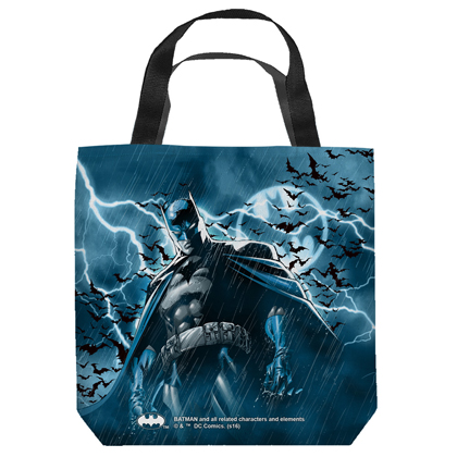 Batman Stormy Knight Tote Bag