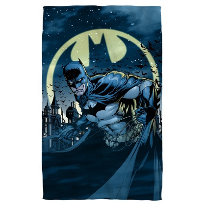 Batman The Bat Signal Beach Towel