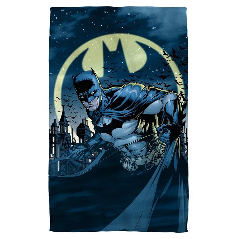 Batman The Bat Signal Beach Towel