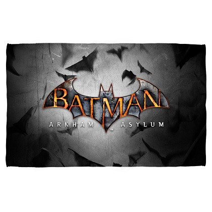 Batman Arkham Asylum Beach Towel
