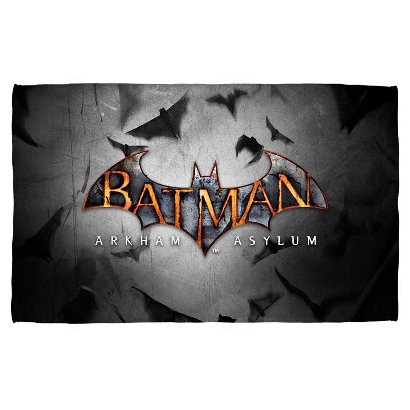 Batman Arkham Asylum Beach Towel