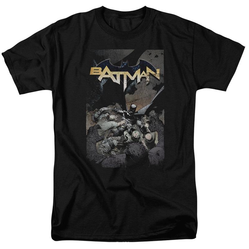 Batman One Black Tshirt