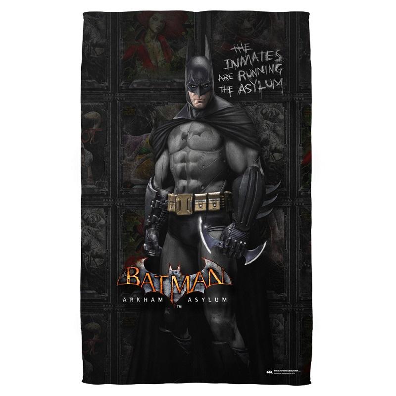 Batman Arkham Inmates Beach Towel