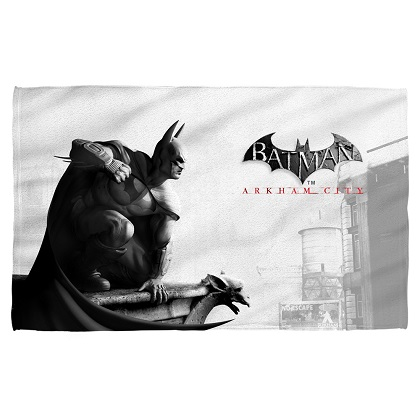Batman Arkham City Beach Towel