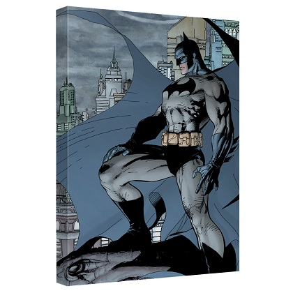 Batman City Watch 12 x 16 Canvas Print