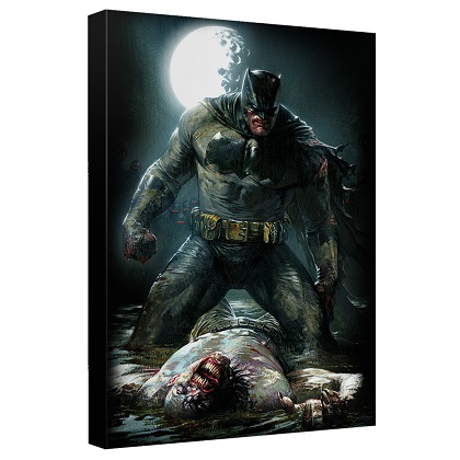 Batman Mudhole 12 x 16 Canvas Print