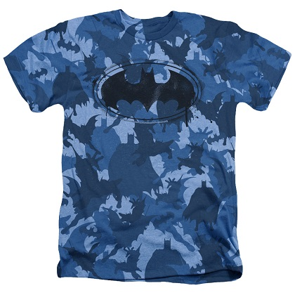 Batman Blue Camo Tshirt