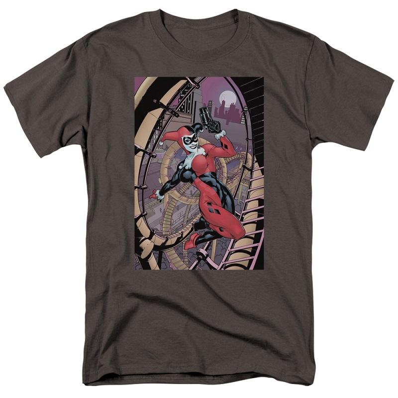 Harley Quinn Pistol Pose Tshirt