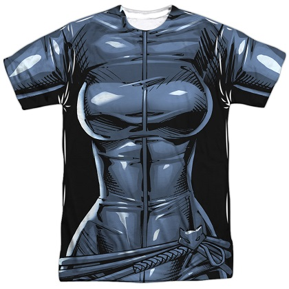 Catwoman Batman Villains Costume Tee