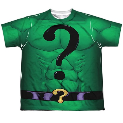 The Riddler Batman Villains Youth Costume Tee