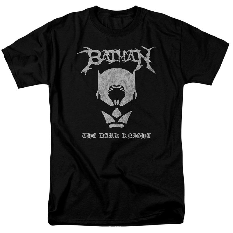 Batman Black Metal Tshirt