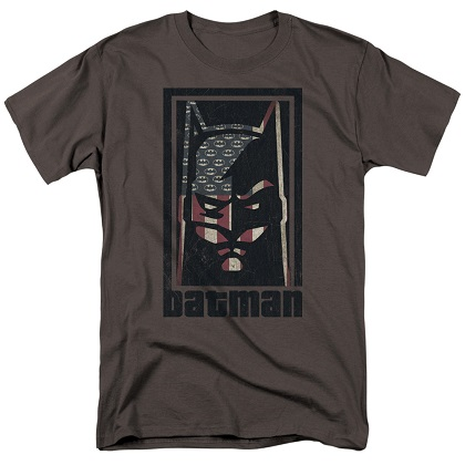 Batman American Hero Logo Flag Tshirt