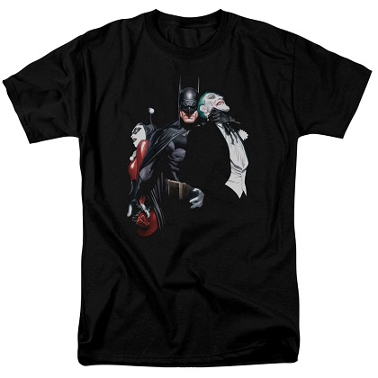 Batman Choking The Joker Tshirt