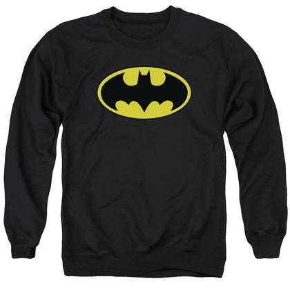 Batman Classic Logo Crewneck Sweatshirt