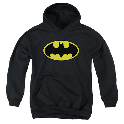 Batman Classic Logo Youth Sized Hoodie