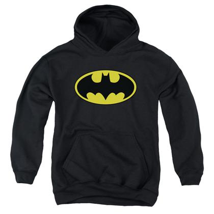 Batman Classic Logo Youth Sized Hoodie