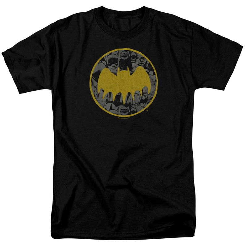 Batman Vintage Logo Collage Tshirt