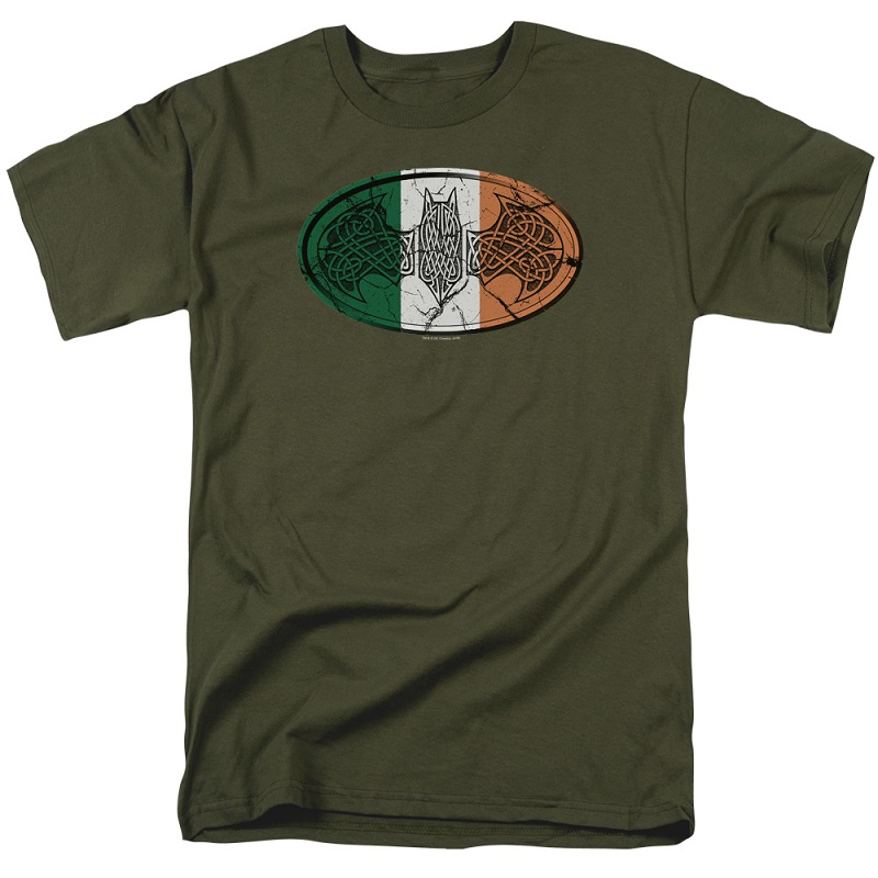 Batman Celtic Flag Logo Tshirt