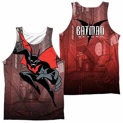 Batman Beyond Bat Tech Sublimation Tank Top