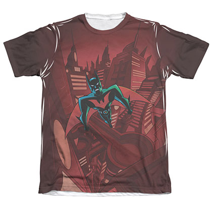 Batman Red Beyond Gotham Sublimation Tee Shirt