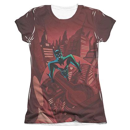 Batman Juniors Beyond Gotham Sublimation Tee Shirt