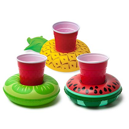 Fruit Floating Inflatable Pool Koozies