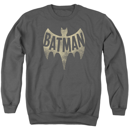 Batman Vintage Bat Logo Crewneck Sweatshirt