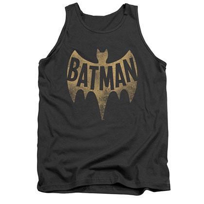 Batman Men's Gray Classic TV Logo Tank Top