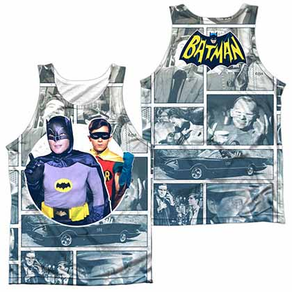 Batman Classic Tv 60S Panels Sublimation Tank Top