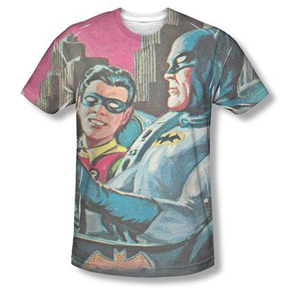 Batman TV Bat Signal Sublimation T-Shirt