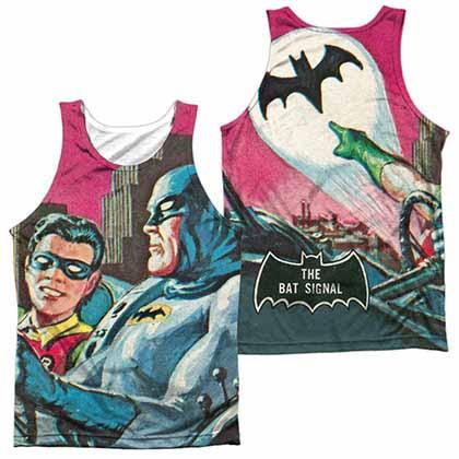 Batman Classic Tv Bat Signal Sublimation Tank Top