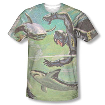 Batman TV Underwater Sublimation T-Shirt
