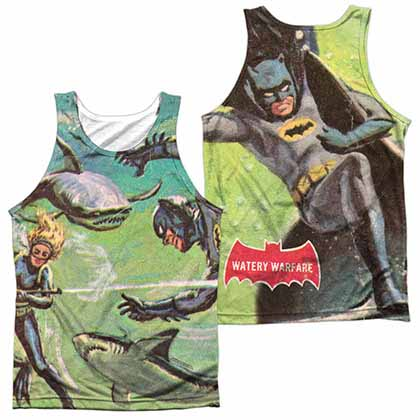 Batman Classic Tv Underwater Sublimation Tank Top