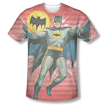 Batman TV Wrong Question Sublimation T-Shirt