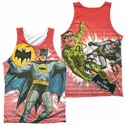 Batman Classic Tv Wrong Question Sublimation Tank Top